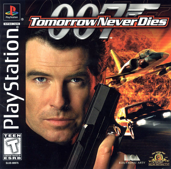007 - Tomorrow Never Dies [U] Front Cover